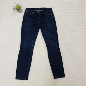7 for All Mankind skinny jeans size 27